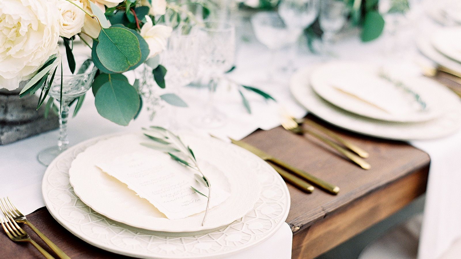 Table Setting | Westin Weddings